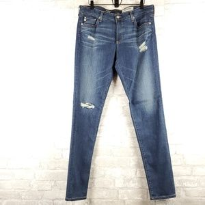 "AG NWT ""The Legging"" super skinny jean   Size 32"